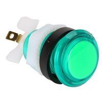 Baolian LED Illuminated Arcade Button - Green