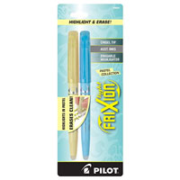 Pilot Frixion Pastel Erasable Highlighter 2 pack - Pink and Yellow