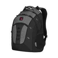 "Swiss Gear Granite Laptop Backpack w/ Tablet Pocket fits Screens up to 16"" - Black/ Gray"