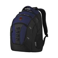 "Wenger Granite Laptop Backpack w/ Tablet Pocket fits Screens up to 16"" - Black/ Navy"
