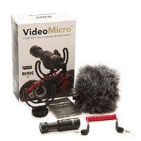 Rode Microphones VideoMicro Compact On-Camera Condenser Microphone