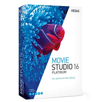 Magix Entertainment VEGAS Movie Studio 16 Platinum
