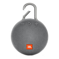 JBL Clip 3 Portable Waterproof Wireless Bluetooth Speaker - Gray