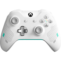 Microsoft Xbox One Wireless Controller - Special Edition Sports White/Silver