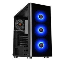Thermaltake V200 RGB Tempered Glass ATX Mid-Tower Computer Case - Black