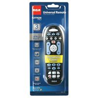Audiovox Electronics 3-Device Universal Remote Control - Black