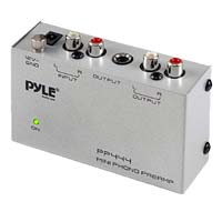Pyle Pro Ultra Compact Phono Turntable Preamplifier