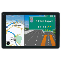 Rand McNally OverDryve 7 Pro GPS Navigator w/ Lifetime Map and Traffic Updates - Refurbished