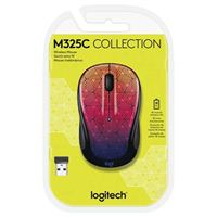 Logitech M325C Wireless Mouse - Urban Sunset