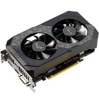 ASUS TUF Gaming GeForce GTX 1660 Ti Overclocked Dual-Fan 6GB GDDR6 PCIe Video Card