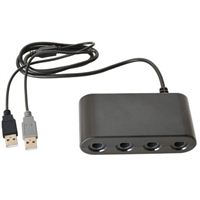 TTX Tech GameCube Controller Adapter for Wii U and Switch