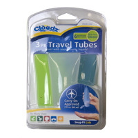 Cloudz Travel Tube 3 Pack - 2 oz.