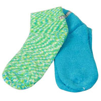 Cloudz Aloe Socks (2 Pack) - Blue