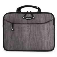 "Mobile Edge SlipSuit Notebook Sleeve Fits Screens up to 16"" - Carbon"