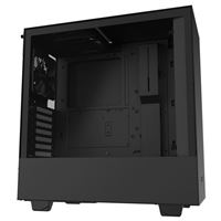 NZXT H510 Tempered Glass ATX Mid-Tower Computer Case - Black