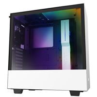 NZXT H510i Tempered Glass ATX Mid-Tower Computer Case - White/Black