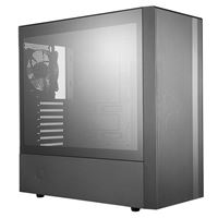 Cooler Master NR600 MasterBox Tempered Glass ATX Mid Tower Computer Case...