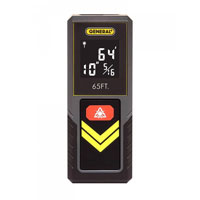 General Tools Compact Laser Measure 65'