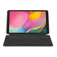 "Samsung Galaxy Tab A 10.1"" Book Cover Keyboard - Black"