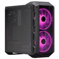 Cooler Master MasterCase H500 Tempered Glass ATX Mid-Tower Computer Case (Refurbished) - Black