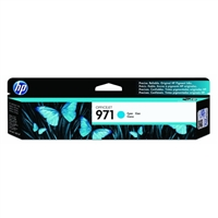 HP 971 Officejet Cyan Ink Cartridge