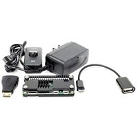 Micro Connectors Raspberry Pi Zero Starter Case Kit with Power Adapter and Cable (RAS-PCS01PWR-BK)