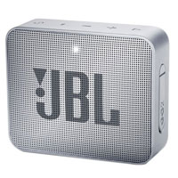 JBL GO2 Portable Bluetooth Speaker with Rechargeable Battery, Waterproof, Built-in Speakerphone, Grey