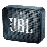 JBL GO 2 Portable Bluetooth Speaker- Navy