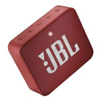 JBL GO 2 Portable Bluetooth Speaker- Red