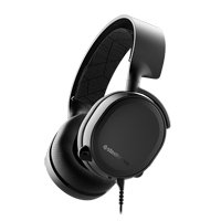 SteelSeries Arctis 3 Gaming Headset - Black (Refurbished)