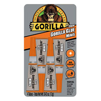 Gorilla Glue Minis Tube 3 gram 4 pack - Clear