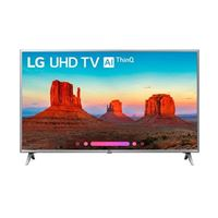 "LG 43UK6500AUA 43"" Class (42.5"" Diag.) 4K Ultra HD HDR Smart LED TV w/ ThinQ"