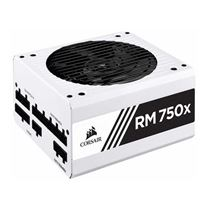 Corsair RM750x 750 Watt 80 Plus Gold ATX Fully Modular Power Supply - White