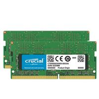Crucial 32GB 2 x 16GB DDR4-2666 PC4-21300 CL19 Memory Kit