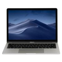 "Apple MacBook Pro with Touch Bar MV9A2LL/A Mid 2019 13.3"" Laptop Computer - Silver"