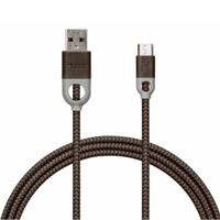 iHome Micro USB (Type-B) Male to USB 2.0 (Type-A) Male Charge/ Sync Cable 10 ft. - Black
