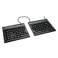 KinesisGaming Freestyle2 Split Keyboard for PC - Black