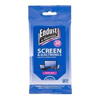 Endust Screen and Electronics Surface Cleaning Wipes - 20 pack