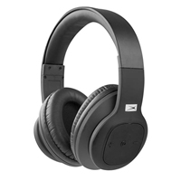 Sakar MZX300-BLK Over Ear Bluetooth Headphones - Black