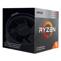 AMD Ryzen 5 3400G Picasso 3.7GHz Quad-Core AM4 Boxed Processor with Wraith Spire Cooler