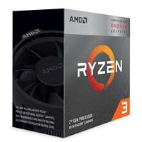 AMD Ryzen 3 3200G Picasso 3.6GHz Quad-Core AM4 Boxed Processor with Wraith Stealth Cooler