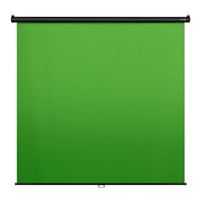 Elgato Green Screen MT Auto-Locking and Self-Rewinding, Wrinkle-Resistant Chroma-Green Fabric