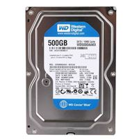"WD 500GB 7200RPM SATA III 6Gb/s 3.5"" Internal Hard Drive"