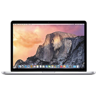 "Apple MacBook Pro MJLQ2LL/A Mid 2015 15.4"" Laptop Computer Off Lease Refurbished - Silver"