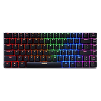 A-Jazz AK33 RGB Mechanical Keyboard Black Switch - Black