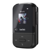 SanDisk Clip Sport Go 16GB MP3 Player - Black