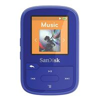 SanDisk Clip Sport Plus 16GB MP3 Player - Blue