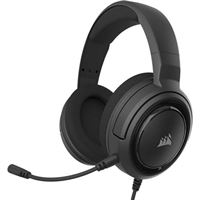 Corsair HS35 Stereo Wired Gaming Headset - Black