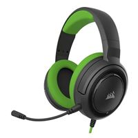 Corsair HS35 Stereo Wired Gaming Headset - Green