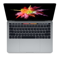 "Apple MacBook Pro with Touch Bar Late 2016 13.3"" Laptop Computer Refurbished - Space Gray"